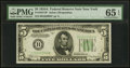Small Size:Federal Reserve Notes, Fr. 1957-B* $5 1934A Federal Reserve Note. PMG Gem Uncirculated 65 EPQ.. ...