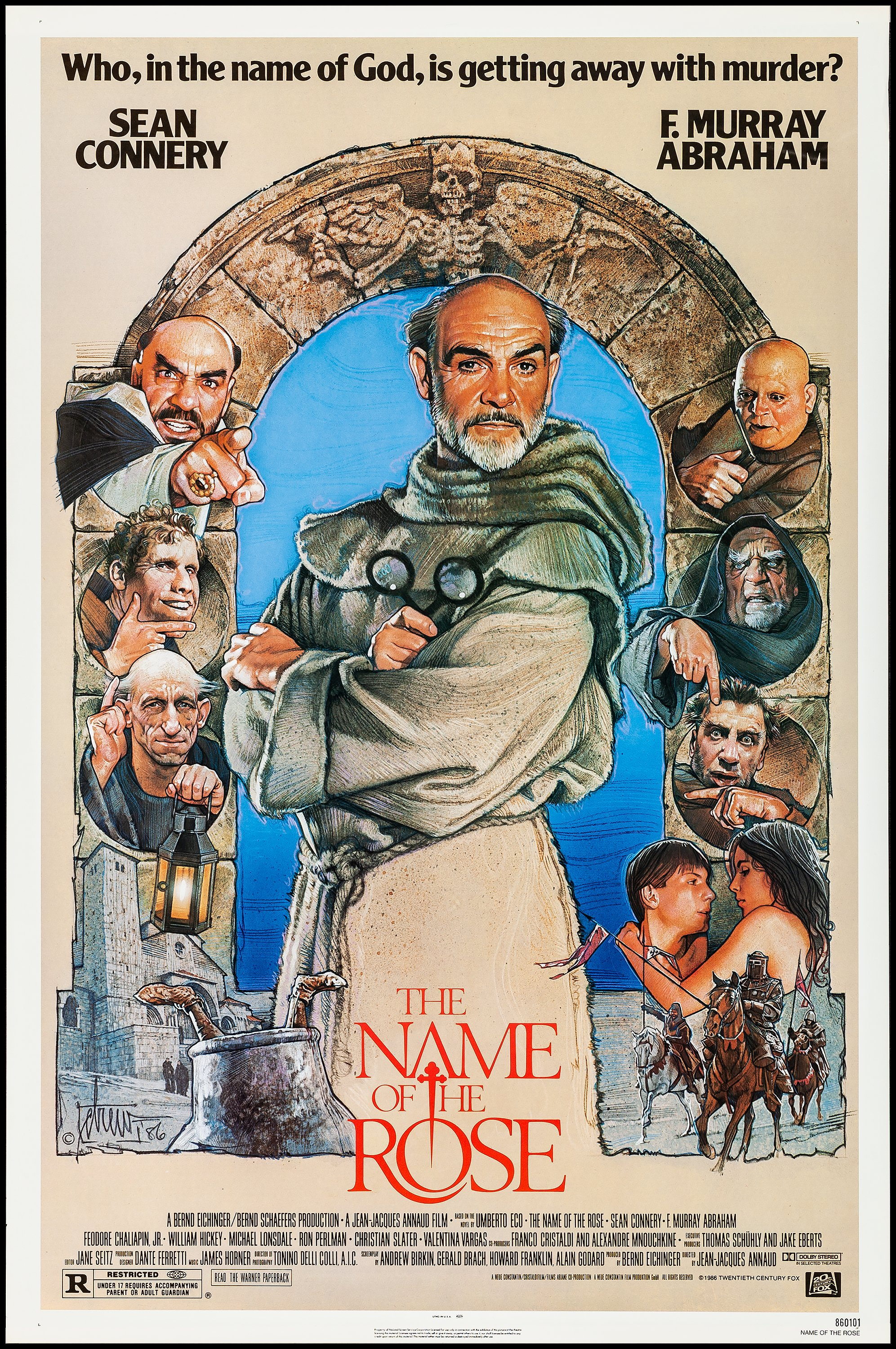 The Name of the Rose & Other Lot (20th Century Fox, 1986)  | Lot #52303 |  Heritage Auctions