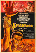 """Movie Posters:Action, Spartacus (Universal, R-1967). Folded, Very Fine-. Argentinean One Sheet (29"""" X 43""""). Action.. ..."""