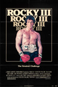 """Movie Posters:Sports, Rocky III & Other Lot (United Artists, 1982). Folded, Fine+. One Sheets (2) (27"""" X 41""""). Sports.. ... (Total: 2 Items)"""