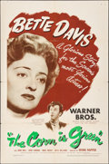 """Movie Posters:Drama, The Corn Is Green (Warner Brothers, 1945). Folded, Fine+. One Sheet (27"""" X 41""""). Drama.. ..."""