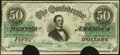Confederate Notes:1862 Issues, T50 $50 1862 Very Fine, COC.. ...