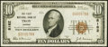 Troy, KS - $10 1929 Ty. 1 The First NB Ch. # 8162 Very Fine
