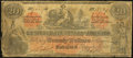 Confederate Notes:1861 Issues, CT19 Counterfeit $20 1861 Very Good.. ...