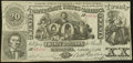 """""""J. Whatman"""" Watermark CT20/141D Counterfeit $20 1861 About Uncirculated"""