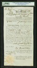 Miscellaneous:Other, $1,000 Treasury of the United States Register's Office July 28, 1795 (1796) 5 1/2% Bond Hessler X55 Replacement.. ...