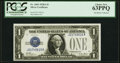Small Size:Silver Certificates, Fr. 1601 $1 1928A Silver Certificate. PCGS Choice New 63PPQ.. ...