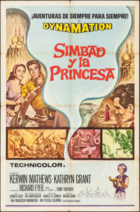 The 7th Voyage of Sinbad & Other Lot (Columbia, R-1971/1958). Folded, Fine/Very Fine. Spanish Language One Sheet...
