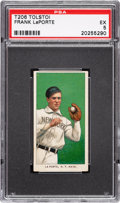 Baseball Cards:Singles (Pre-1930), 1909-11 T206 Tolstoi Frank Laporte PSA EX 5 - The Only PSA-Graded Example! ...