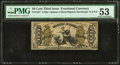 Fr. 1357 50¢ Third Issue Justice PMG About Uncirculated 53