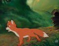 Animation Art:Production Cel, The Fox and the Hound Tod Production Cel Key Master Setup (Walt Disney, 1977). . ...