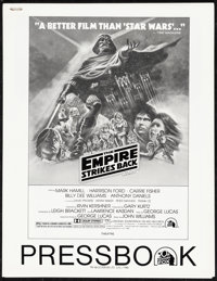 """The Empire Strikes Back (20th Century Fox, 1980). Very Fine+. Uncut Pressbook (32 Pages, 8.5"""" X 11""""). Science..."""