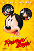 """Movie Posters:Animation, Runaway Brain & Other Lot (Buena Vista, 1995). Rolled, Very Fine. One Sheets (2) (27"""" X 40"""" & 27"""" X 41"""") DS. Animation.. ... (Total: 2 Items)"""