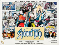 """This is Spinal Tap (Mainline, 1984). Very Fine on Linen. British Quad (30"""" X 40""""). Rock and Roll"""