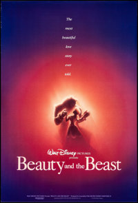"""Beauty and the Beast (Buena Vista/Walt Disney Studios, 1991/R-2002). Rolled, Very Fine+. One Sheets (2) (27"""" X 40&q..."""