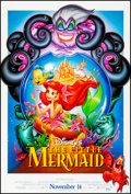 """Movie Posters:Animation, The Little Mermaid & Other Lot (Buena Vista, 1989). Rolled, Very Fine+. One Sheets (2) (26.75"""" X 39.75"""" & 27"""" X 40"""") DS Adva... (Total: 2 Items)"""