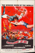 "Movie Posters:Drama, Trapeze (United Artists, 1956). Folded, Fine/Very Fine. One Sheet (27"" X 41""). Drama.. ..."