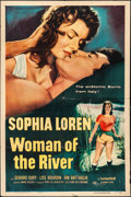 "Movie Posters:Foreign, Woman of the River (Columbia, 1957). Folded, Fine/Very Fine. One Sheet (27"" X 41""). Foreign.. ..."