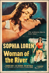 "Woman of the River (Columbia, 1957). Folded, Fine/Very Fine. One Sheet (27"" X 41""). Foreign"