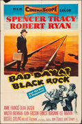 "Bad Day at Black Rock (MGM, 1955). Folded, Fine+. One Sheet (27"" X 41""). Thriller"