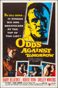 """Movie Posters:Crime, Odds Against Tomorrow (United Artists, 1959). Folded, Very Fine. One Sheet (27"""" X 41""""). Crime.. ..."""