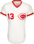 Baseball Collectibles:Uniforms, 1982 Dave Concepcion Game Worn Cincinnati Reds Jersey. ...