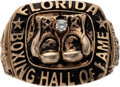 Boxing Collectibles:Memorabilia, 2010 Florida Boxing Hall of Fame Ring Presented to Don King. ...