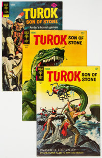 Turok, Son of Stone Group of 41 (Gold Key, 1962-79) Condition: Average VF+.... (Total: 41 Comic Books)