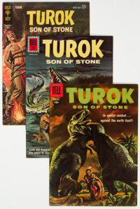 Turok, Son of Stone File Copies Group of 20 (Dell/Gold Key, 1958-78) Condition: Average FN/VF.... (Total: 20 Comic Books...