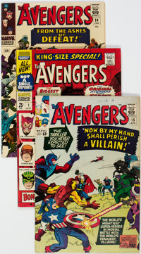 The Avengers Group of 28 (Marvel, 1965-69) Condition: Average VF.... (Total: 28 Comic Books)