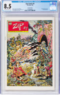 Bronze Age (1970-1979):Alternative/Underground, Zap Comix #9 Second Printing (Last Gasp, 1980) CGC VF+ 8.5 Off-white to white pages....