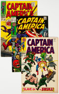 Silver Age (1956-1969):Superhero, Captain America Group of 7 (Marvel, 1968-69) Condition: Average VF+.... (Total: 7 Comic Books)