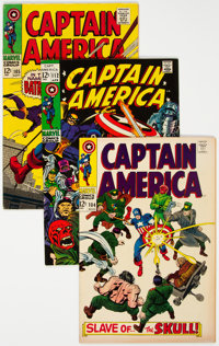 Captain America Group of 7 (Marvel, 1968-69) Condition: Average VF+.... (Total: 7 Comic Books)