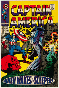 Captain America #101 (Marvel, 1968) Condition: VF