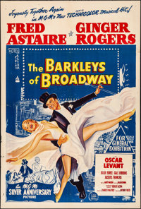 "The Barkleys of Broadway (MGM, 1949). Folded, Fine/Very Fine. Australian One Sheet (27"" X 40""). Musical"