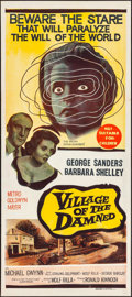"""Movie Posters:Science Fiction, Village of the Damned (MGM, 1960). Folded, Very Fine. Australian Daybill (13.25"""" X 30""""). Science Fiction.. ..."""