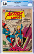 Silver Age (1956-1969):Superhero, Action Comics #252 (DC, 1959) CGC GD 2.0 Off-white pages....