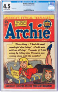 Golden Age (1938-1955):Humor, Archie Comics #53 (Archie, 1951) CGC VG+ 4.5 Off-white to white pages....