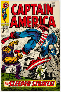 Captain America #102 (Marvel, 1968) Condition: VF/NM