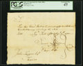 Colonial Notes:Connecticut, Connecticut Pay Table Office August 9, 1780 £182 PCGS Extremely Fine 45.. ...