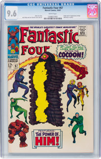 Fantastic Four #67 (Marvel, 1967) CGC NM+ 9.6 White pages