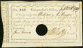 Colonial Notes:Connecticut, Connecticut Interest Payment Certificate £5 1789 Anderson CT-54 Fine-Very Fine, HOC.. ...
