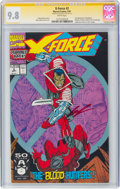 Modern Age (1980-Present):Superhero, X-Force #2 Signature Series (Marvel, 1991) CGC NM/MT 9.8 White pages....