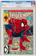 Modern Age (1980-Present):Superhero, Spider-Man #1 Regular (Marvel, 1990) CGC NM+ 9.6 White pages....