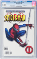 Modern Age (1980-Present):Superhero, Ultimate Spider-Man #1 Variant Cover (Marvel, 2000) CGC VF/NM 9.0 White pages....