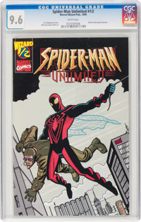 Spider-Man Unlimited #1/2 (Marvel-Wizard, 1999) CGC NM+ 9.6 White pages