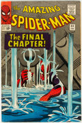 Silver Age (1956-1969):Superhero, The Amazing Spider-Man #33 (Marvel, 1966) Condition: FN....