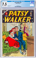 Golden Age (1938-1955):Humor, Patsy Walker #54 (Atlas, 1954) CGC VF- 7.5 Off-white to white pages....