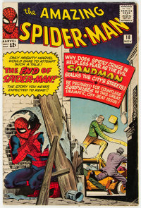 The Amazing Spider-Man #18 (Marvel, 1964) Condition: VG