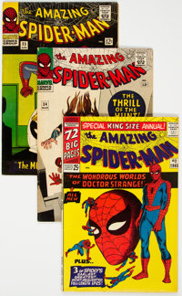 The Amazing Spider-Man Group of 28 (Marvel, 1966-69) Condition: Average FN.... (Total: 28 Comic Books)